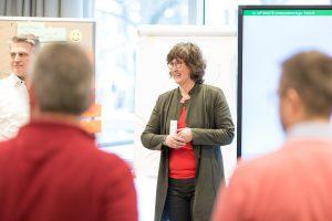 Viele Fragen der Teilnehmer machten das Seminar besonders effektiv.